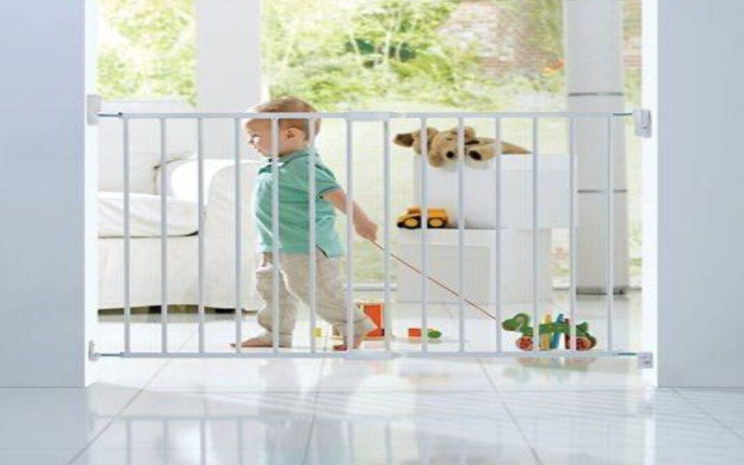 Claves para comprar vallas de seguridad infantil